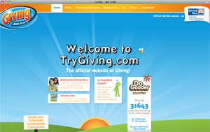 TRY GIVING